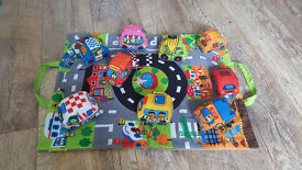 Baby soft toy cars