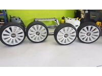 WV Audi 20'' alloys with tyres, 5 x 100 & 5 x 112