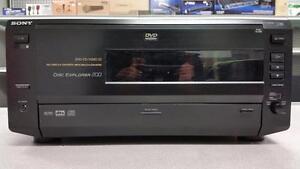 Sony 200 Disc DVD & CD Player