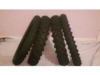 michelin motocross tyre's big wheel ktm 85 or other 85 cc bikes cr kx rm crf yz