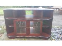 Wood Corner Tv cabinet