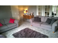 2 Seater and 3 Seater Sofas for SALE as Set