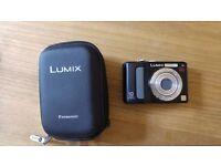 Panasonic lumix camera and case