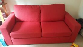 Next sofa bed hardly used cost 600