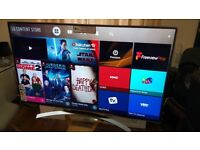 LG 55-inch SUPER Smart 4K ACTIVE HDR10 UHD LED TV-55UJ750,built in Wifi,Freeview HD & FREESAT HD