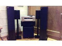 Acoustic Energy Speakers and Sony STR-DBR940 Amplifier