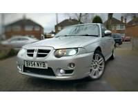 2004 Silver MG ZT CDTI 135+2L Diesel BMW common rail engine.