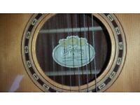 Left hand Washburn guitar for sale. V.G.C