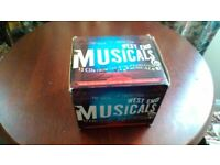 Boxed set of musicals cds.
