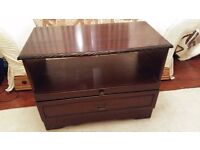 Mahogany TV Unit, with space for DVD/Blu-Ray/SKY Box/Games console etc...