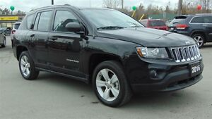 2016 Jeep Compass 4X4 - 5 SPEED MANUAL - EXECUTIVE DEMO