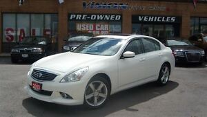 2013 Infiniti G37X AWD/NAVIGATION/LEATHER/SUNROOF/