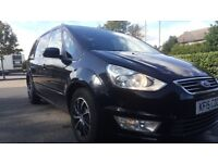 Ford Galaxy 7 seat zetec 2015 available for pco rent Uber approved XL