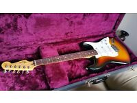 Fender Standard stratocaster and hard case