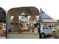 Catering trailer burger van gin bar take away tea & coffee snack van food trailer ice cream trailer