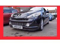 Convertible --- 2009 Peugeot 207 CC 1.6 HDi FAP GT --- Diesel --- 37000 Miles --- Low Mileage C C CC