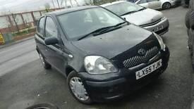 Toyota Yaris 2005 1 litter petrol low mileage