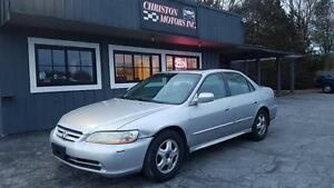 2001 Honda Accord SPECIAL! ONLY $999+taxes