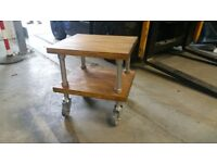 SPS Bespoke - Industrial Caster Wheel Side Table
