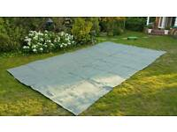Breathable groundsheet for caravan awning 5.3 x 3 m