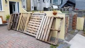 Free Pallets / Wood