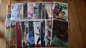 Comics, mixed bundle 22 comics
