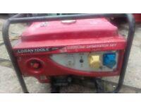 Logan Tools DY2500 2.2KW silent 4 STROKE PETROL GENERATOR