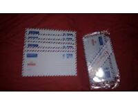 [ 12 ] 1st class air mail letters ( £1.25 x 12 = £15 )