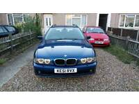 2001 (51) bmw 530d SE e39 facelift, full service history, 13 months MOT, the ultimate cruiser.