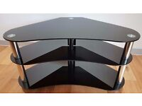 Excellent condition - Stylish Glass TV Stand