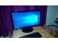 Samsung 27 inch HD Wide LED SyncMaster SA350 Monitor