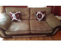 Sofa/suite 3 + 2 + footstool