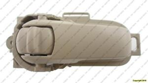 Door Handle Inner Front Passenger Side Sedan/H-Back Beige Nissan VERSA HATCH BACK 2007-2009