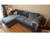 IKEA Vimle 2 seater sofa with chaise lounge