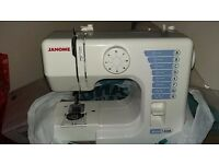 Janome portable electric sewing machine