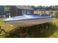 Speedboat and Trailer For Sale