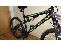 MUDDYFOX LIVEWIRE, mountain bike with dual suspension