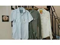 11 men shirts size small bundle 15 collar