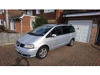 Seat Alhambra 1.9 Tdi 7 seater: Heated Seats/Climate Control/6 speed Gear Box