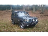 Land Rover Discovery 300TDI. 1994. 93k miles. 4×4. 7 seats