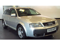 2004 54 AUDI A6 2.5 ALLROAD TDI QUATTRO 5D 177BHP DIESEL*PART EX WELCOME*FINANCE AVAILABLE*WARRANTY*