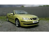 Saab 9-3 2.0t vector convertible