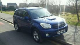2004 Toyota rav4 2.0 D-4D xt3 5dr estate great car and tidy bargain price