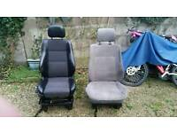 Vw t4 front seats with bases