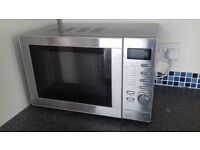 Microwave oven and grill 1200 wt, barely used