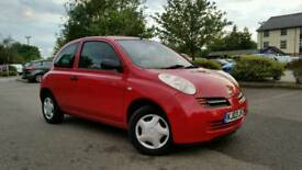 AUTOMATIC*1 OWNER*NISSAN MICRA 1.2 S*RED*HPI CLEAR*FULL MAIN DEALER HISTORY*2 KEYS*MOT &TAXED