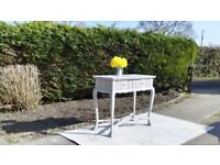 Lovely Vintage Sideboard/Serving Table. Paris Grey, Shabby Chic. Matching Table & ChairsAvailable.
