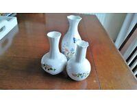Aynsley Fine Bone China Vases