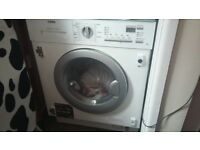 AEG washer dryer 7kg integrated