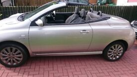 NISSAN MICRA 1,6 PETROL CONVERTIBLE ONLY 66,885 MILLES